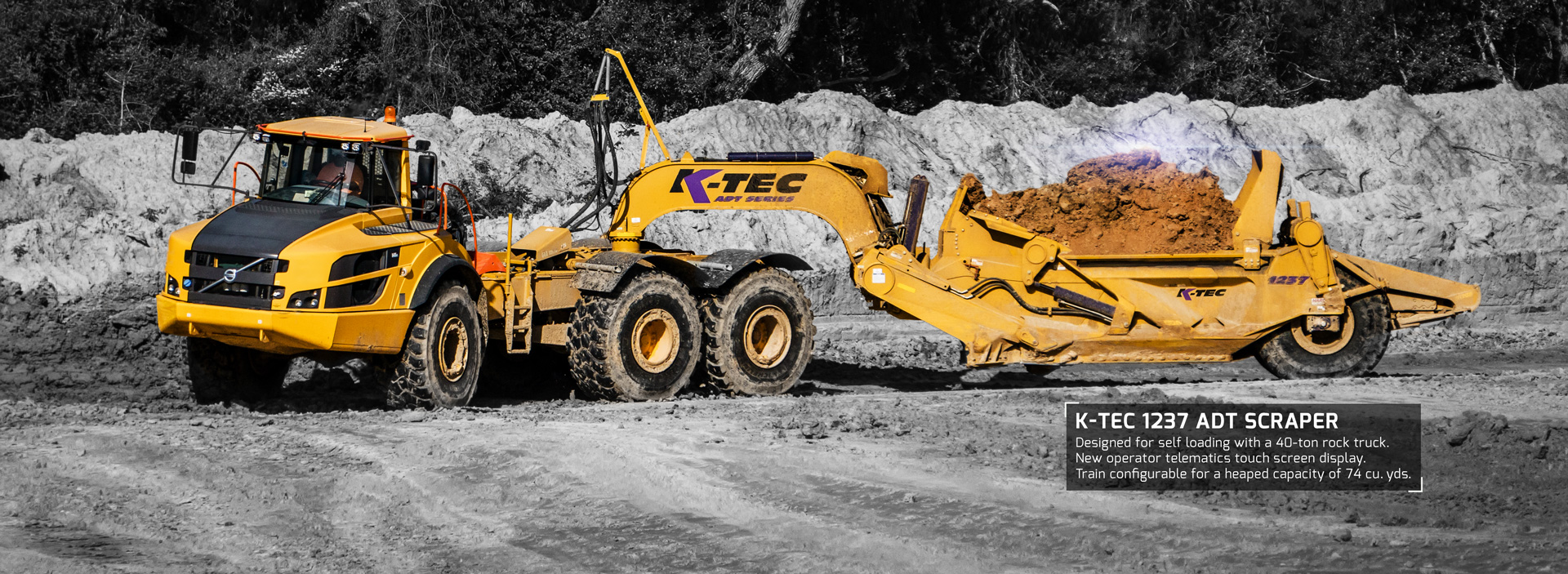 K-Tec - Efficient Earthmoving Scraper Solutions | K-Tec