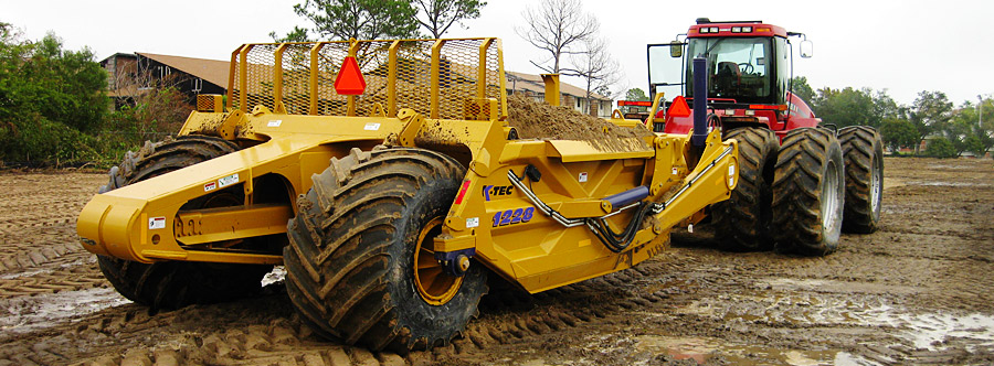 K-Tec 1288 Scraper Model in South USA Sand