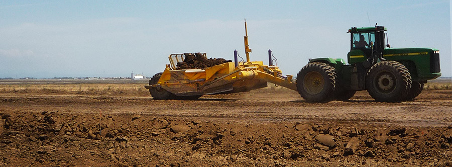 K-Tec 1233SS Scraper Model in South America Topsoil