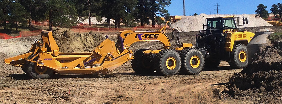 K-Tec 1233 ADT Scraper Model in Denver