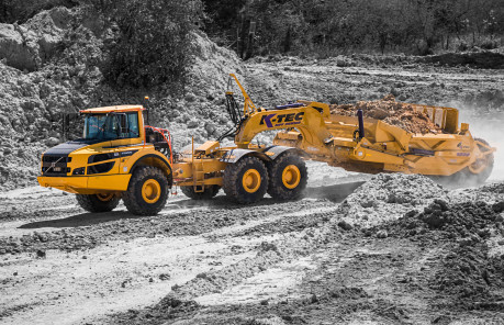 K-Tec - Efficient Earthmoving Scraper Solutions | K-Tec
